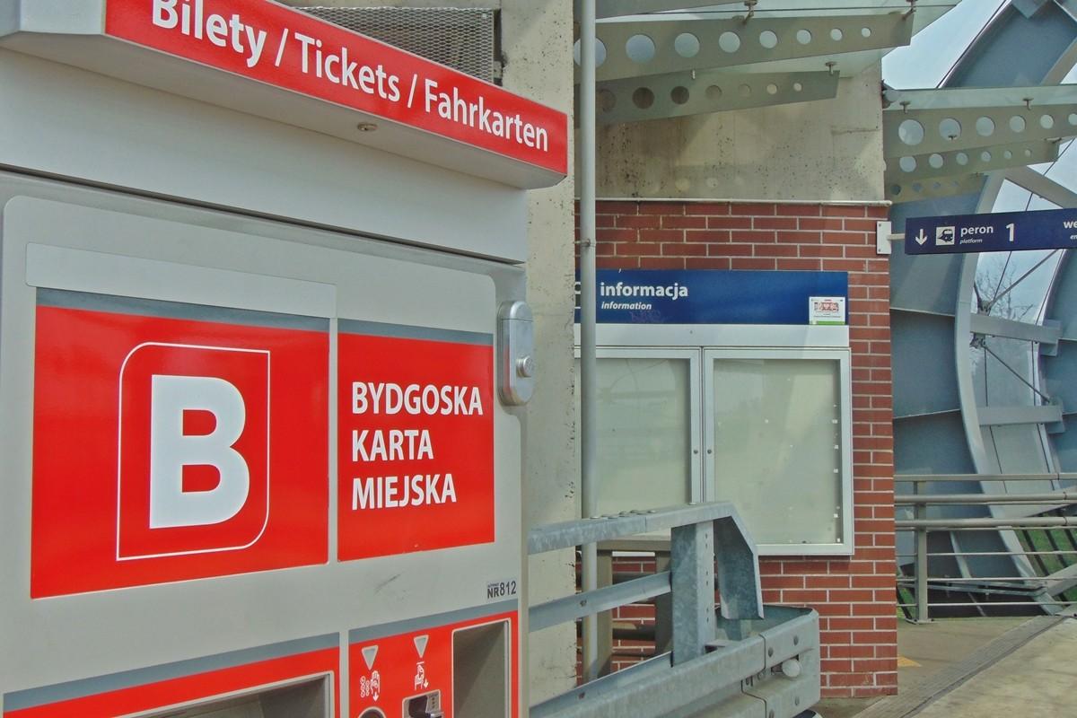 biletomat dworzec wschód