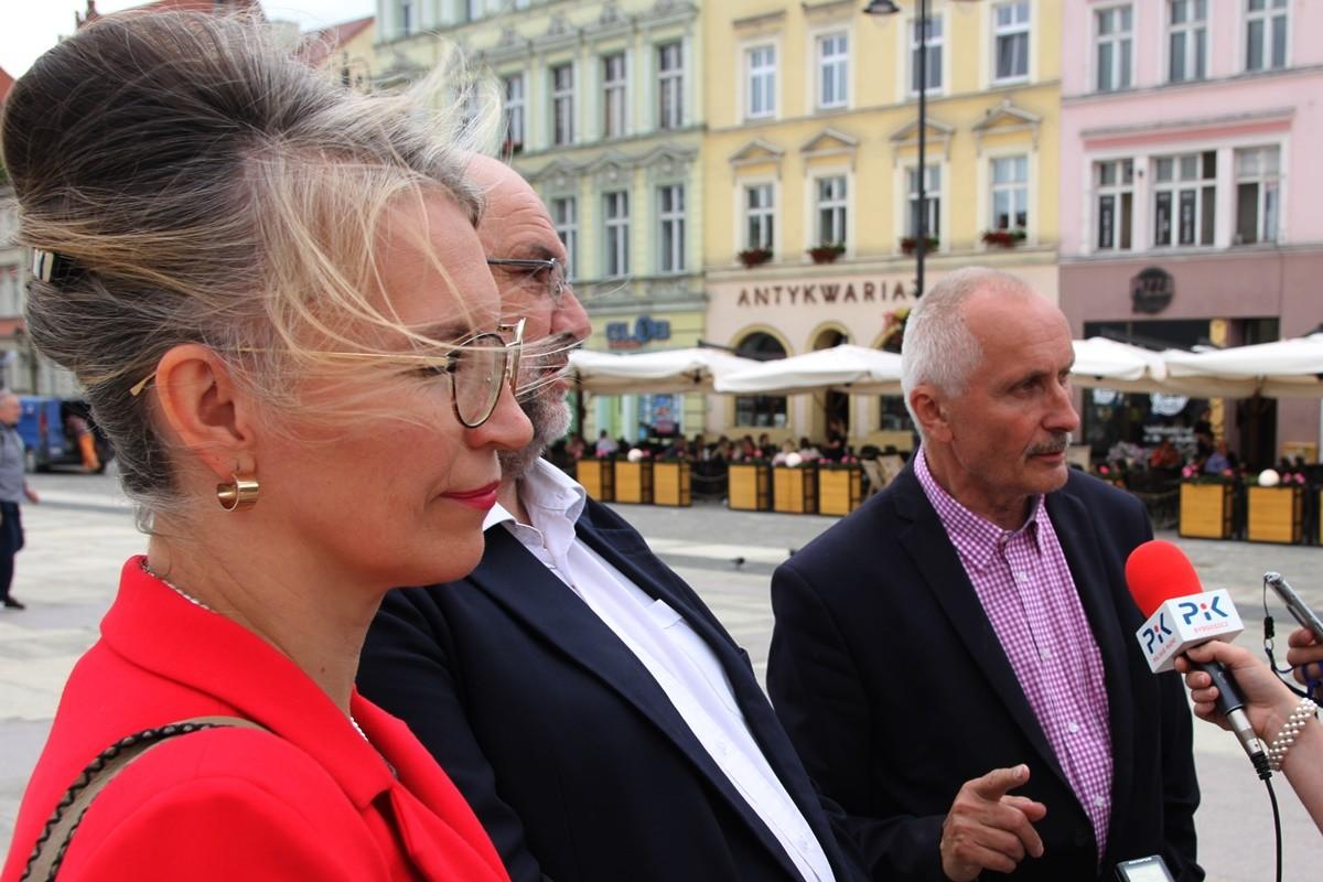 Grażyna Szabelska, Krystian Frelichowski, Stefan Pastuszewski