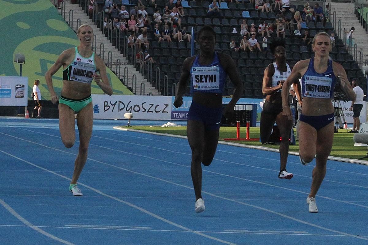 I Memoriał im. Ireny Szewińskiej - Bydgoszcz - bieg na 400 m kobiet - Iga Baumgart-Witan_ SF