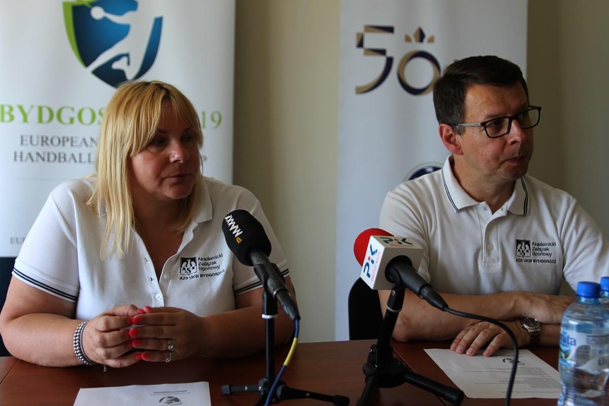 Katarzyna Domańska, prof. Bernard Mendlik - UKW Bydgoszcz - SF