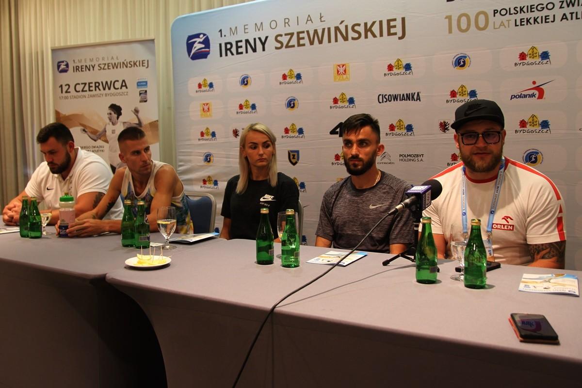 Konrad Bukowiecki, Marcin Lewandowski, Justyna Święty-Ersetic, Adam Kszczot, Paweł Fajdek - SF