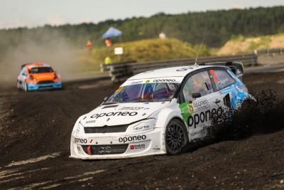 Rallycross - Mistrzostwa Polski Toruń_ Marcin Gagacki - fot Maciej Niechwiadowicz