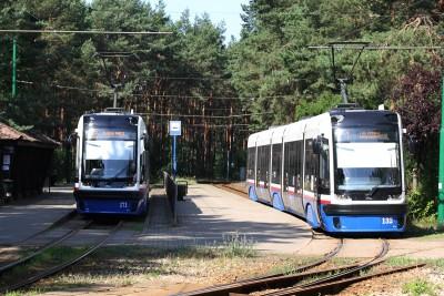 pętla tramwajowa Las Gdański - SF