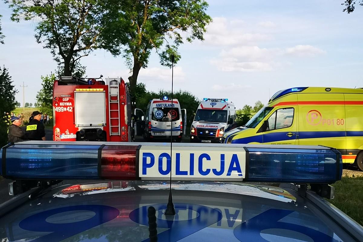 policja, ambulans, straż pożarna - na sygnale - RK