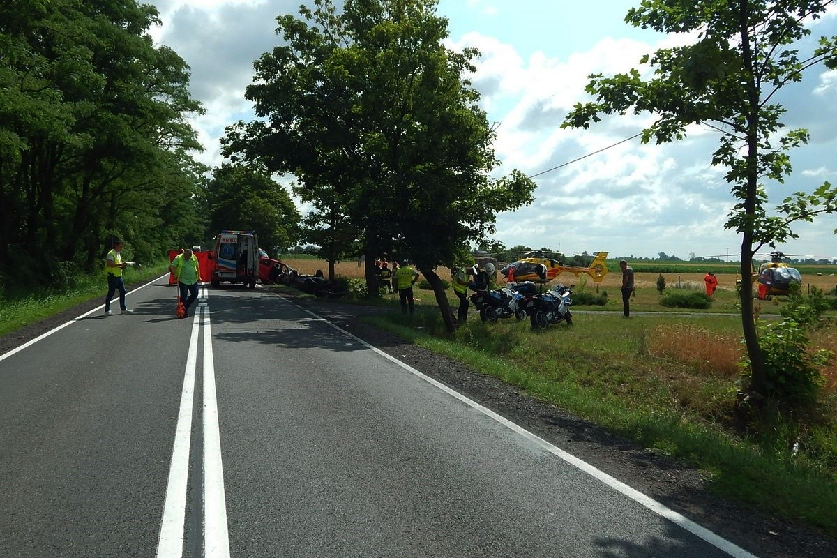 wypadek - DK62 Borucinek_ KPP Radziejów (3)