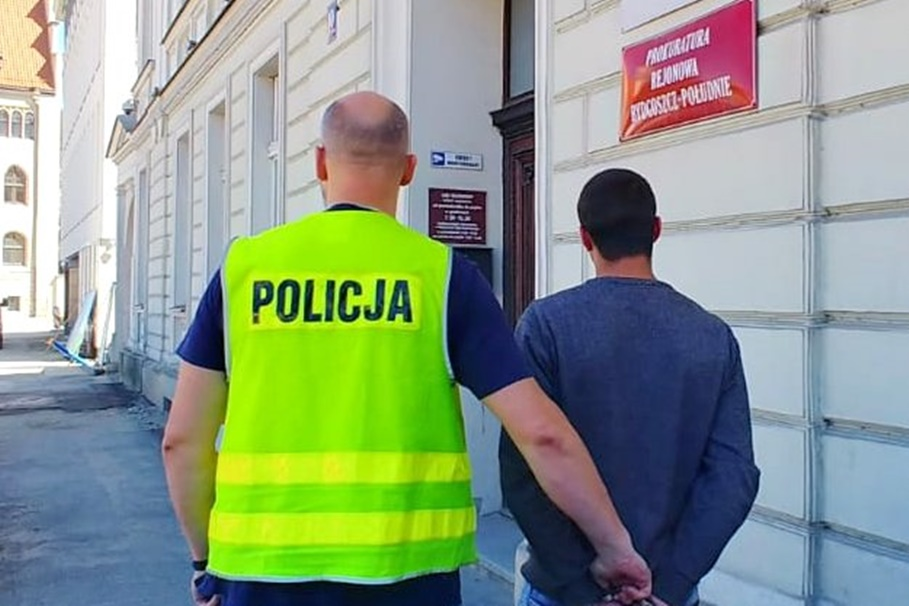 zatrzymanie - kradzież - Orla Bydgoszcz_ KWP Bydgoszcz (1)