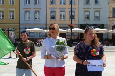 14-07-2019_ happening Zielonych na Starym Rynku_ Paulina Wenderlich - JS