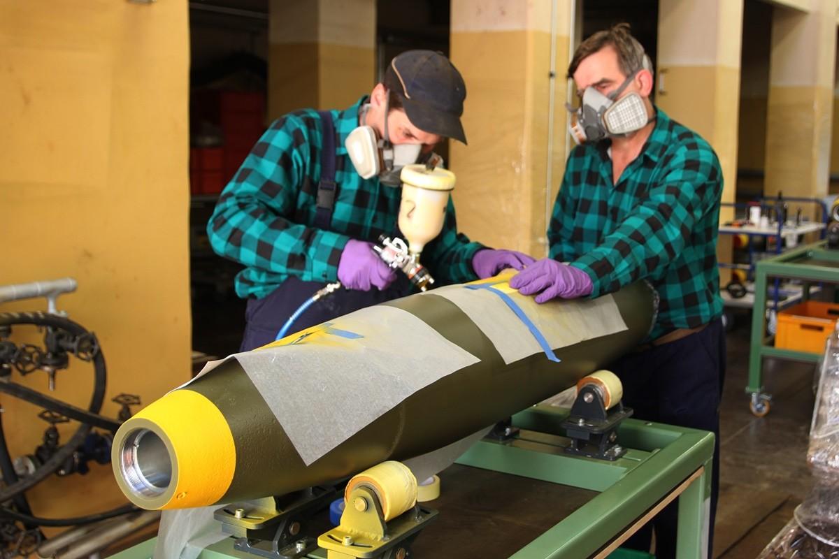 15-07-2019_ produkcja bomb MK-82_ Zakłady Chemiczne Nitro-Chem S.A. - SF (5)