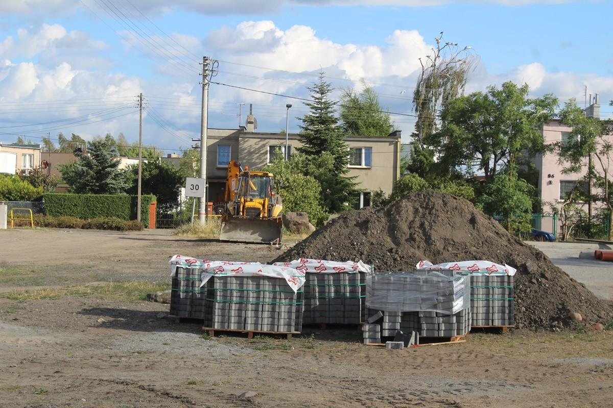 8-07-2019_ Budowa - parking, ul. Pod Borem_ Czyżkówko Bydgoszcz - JS (3)