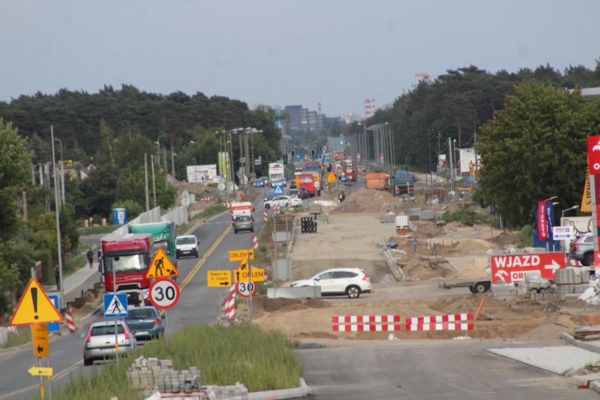 rozbudowa Grunwaldzkiej Bydgoszcz
