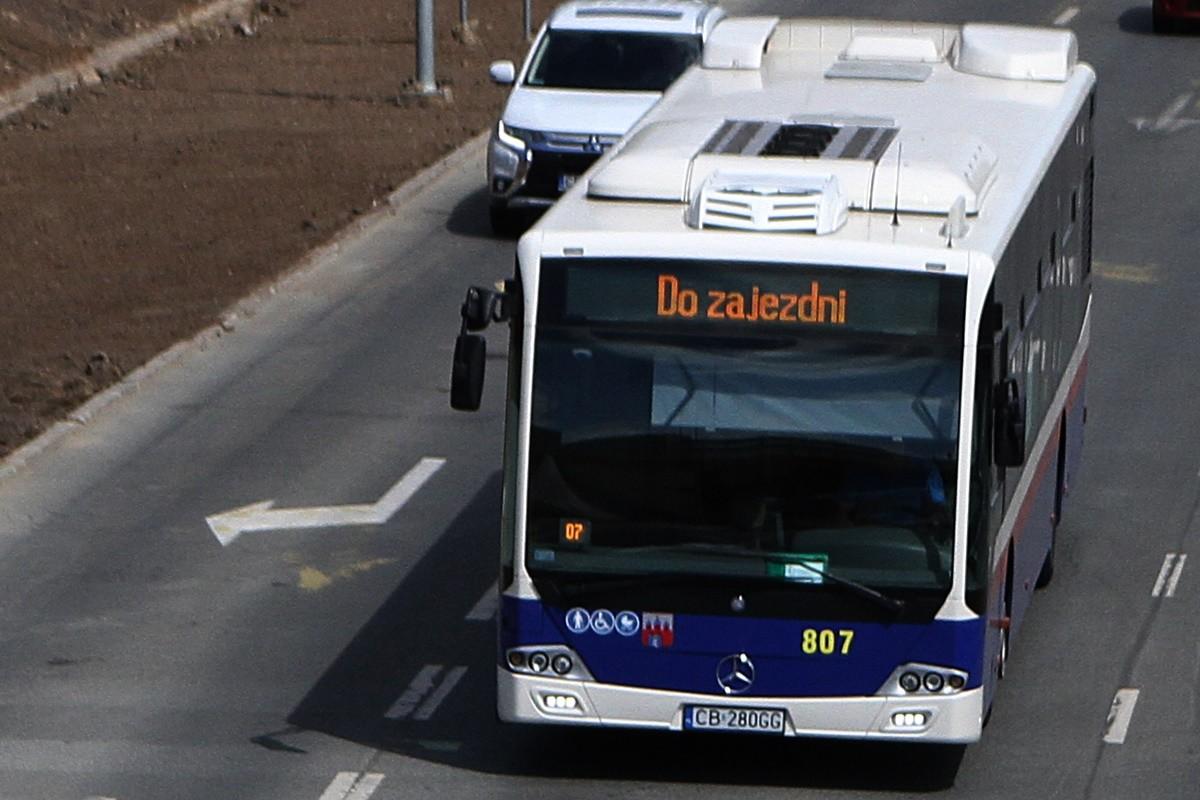 Autobus MZK Bydgoszcz - SF