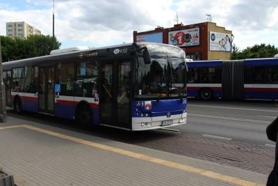 Autobus - linia 55, kierunek Morska - SF