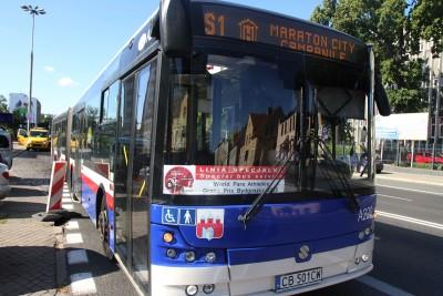 Autobus - linia specjalna S1, kierunek Hotel Campanile - SF