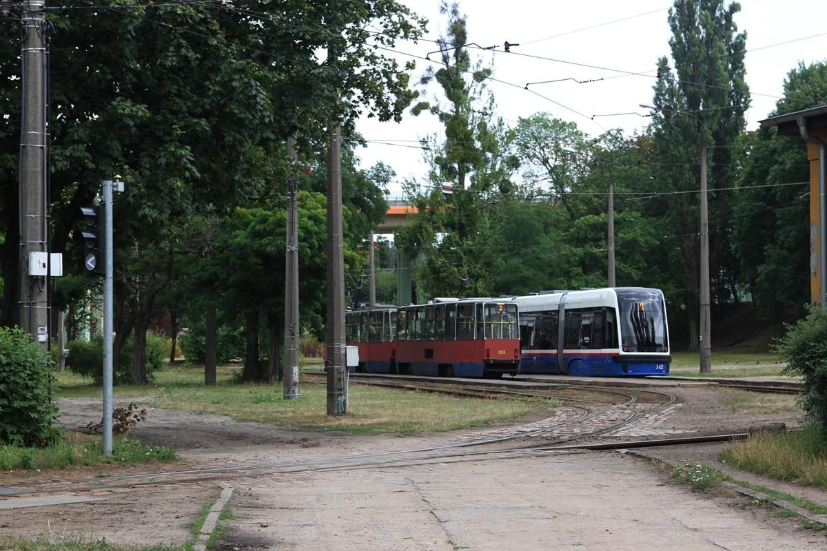 Pętla tramwajowa - Babia Wieś Bydgoszcz - SF