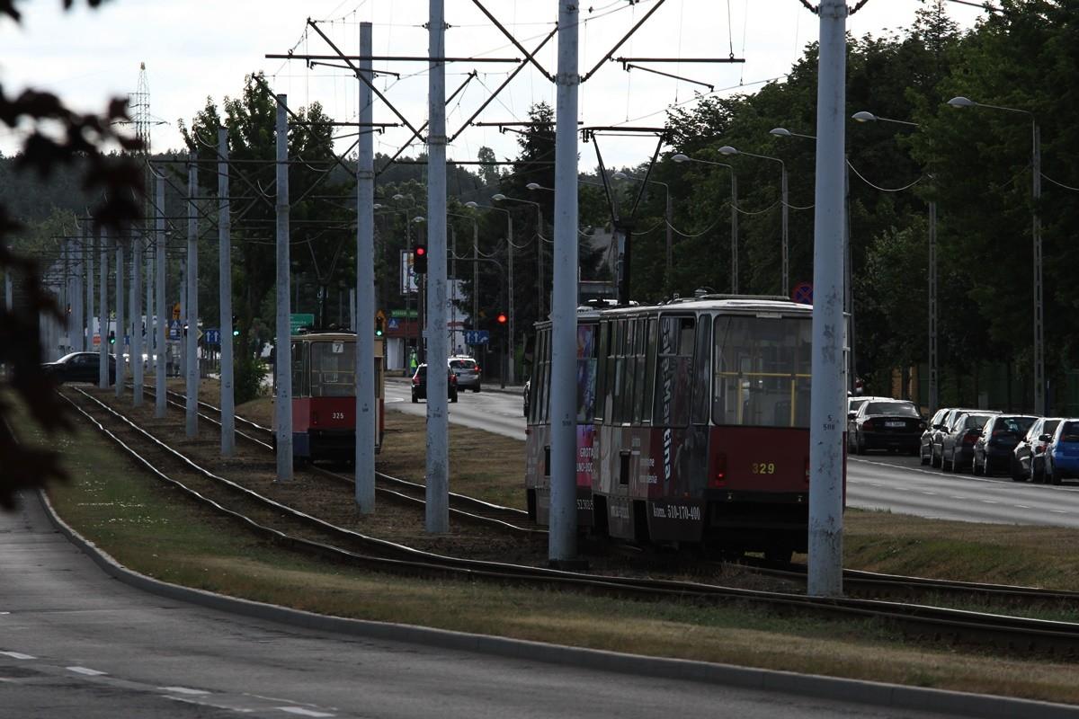 Torowisko tramwajowe - ul. Toruńska Bydgoszcz - SF
