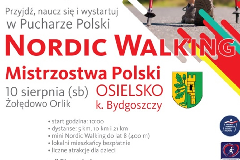 nordic walking, osielsko