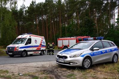 policja, straż pożarna, ambulans - na sygnale - MR