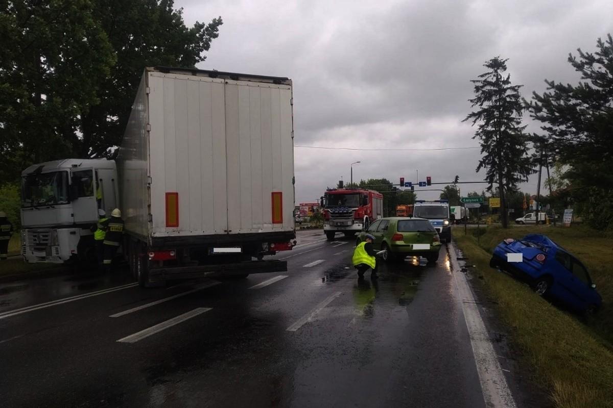 wypadek - DK10 Brzozówka - KMP Toruń-1