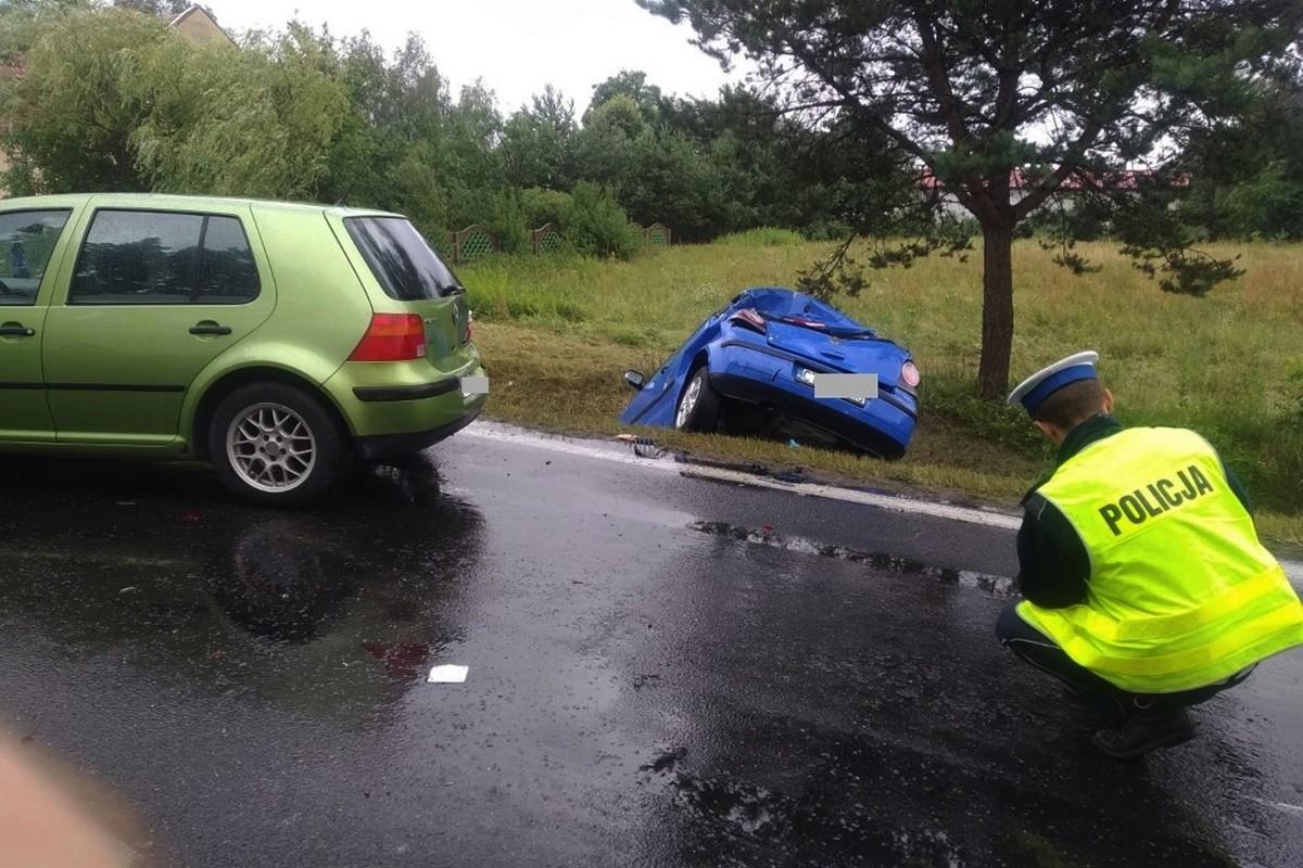 wypadek - DK10 Brzozówka - KMP Toruń-4