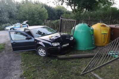 wypadek Grudziądz - KMP Grudziądz