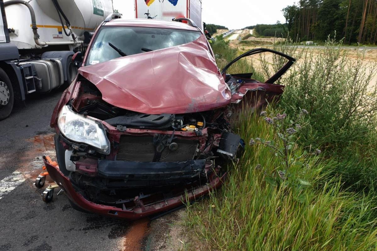 wypadek - droga 5C, pow. świecki, Święte - KPP Świecie (3)