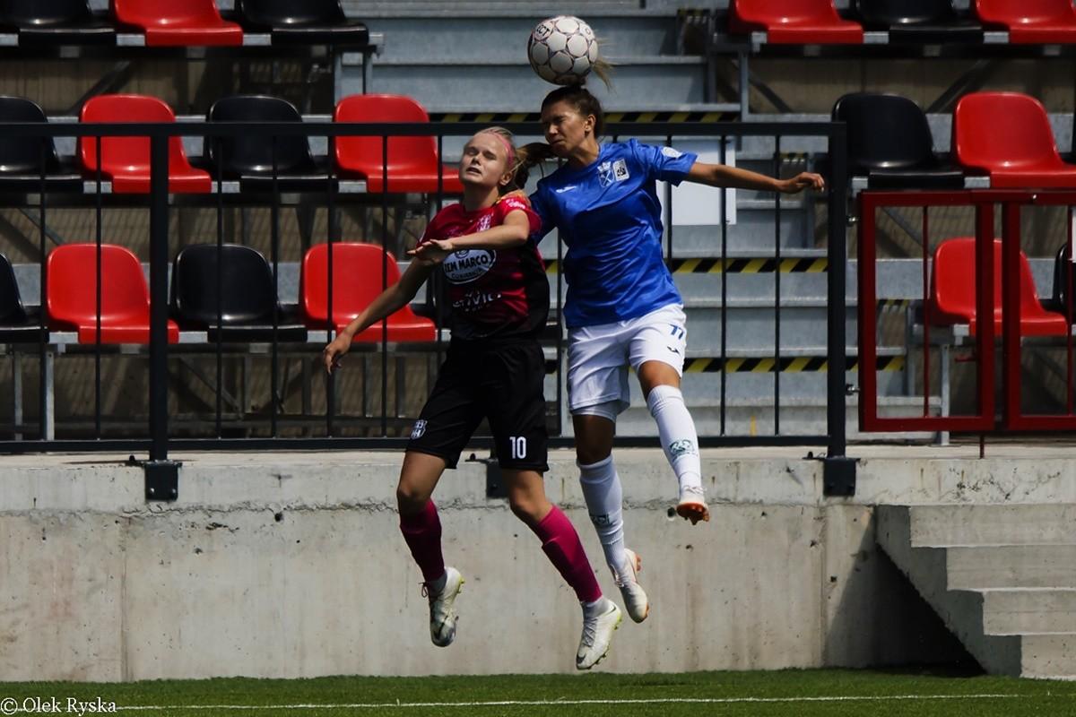 10-08-2019_ Ekstraliga piłki nożnej kobiet - 2 kolejka - AZS Kraków - KKP Rem Marco Bydgoszcz - AR (8)