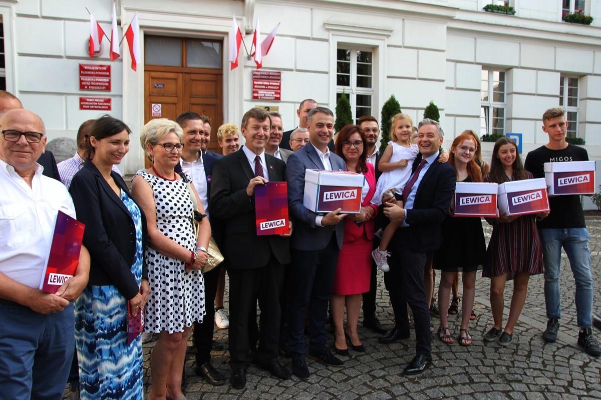 31-08-2019_ konferencja prasowa Lewica_ Robert Biedroń, Jan Szopiński, Krzysztof Gawkowski - SF