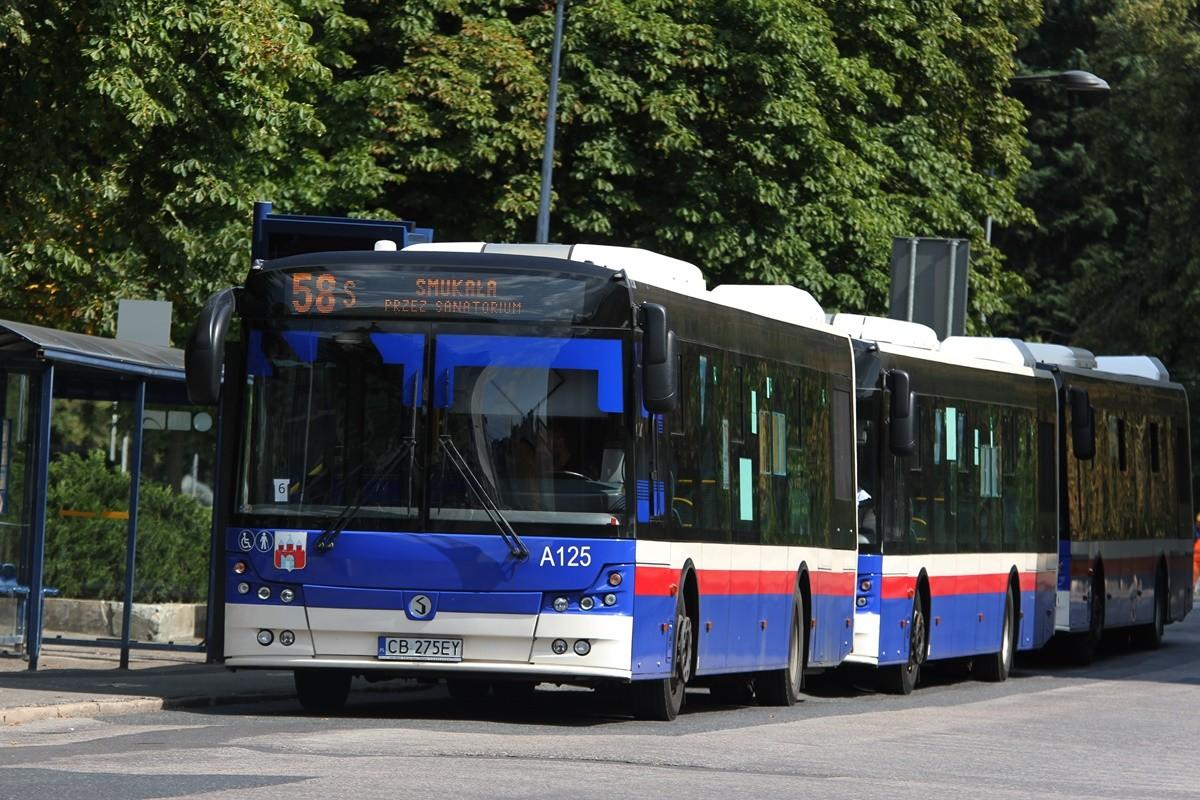 Autobus - Irex Trans_ linia 58, kierunek Smukała, linia 51, kierunek Czyżkówko - SF