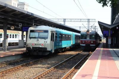 Dworzec PKP Bydgoszcz Główna - pociągi - SF
