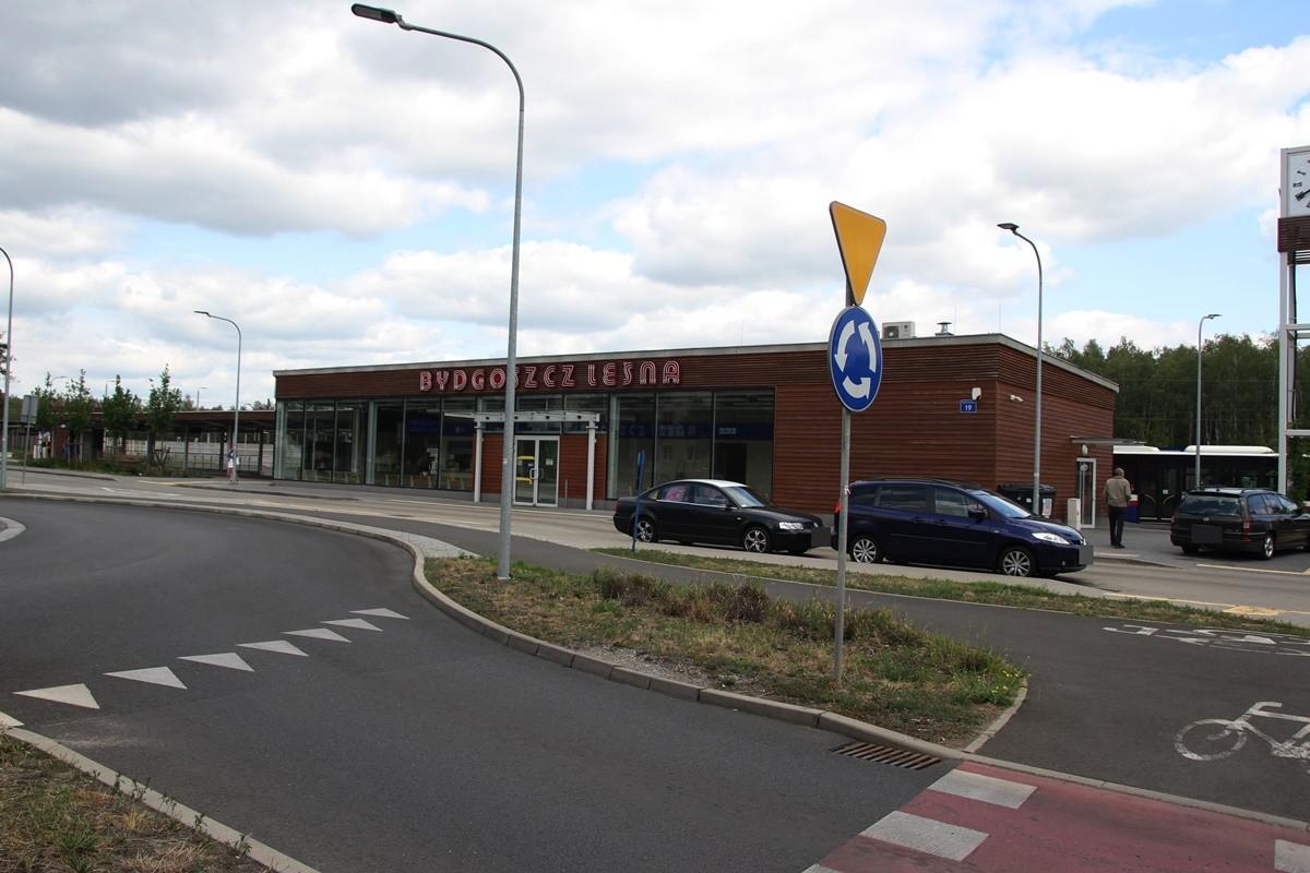 Dworzec PKP Bydgoszcz Leśne - SF-1