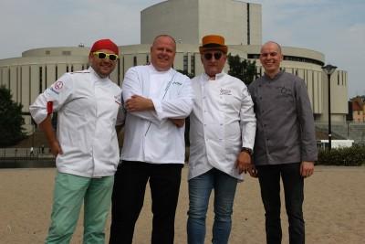 Krzysztof Szczepaniak, Sebastian Ferenc, Grzegorz Parczewski,  Krzysztof Bielawski - SF