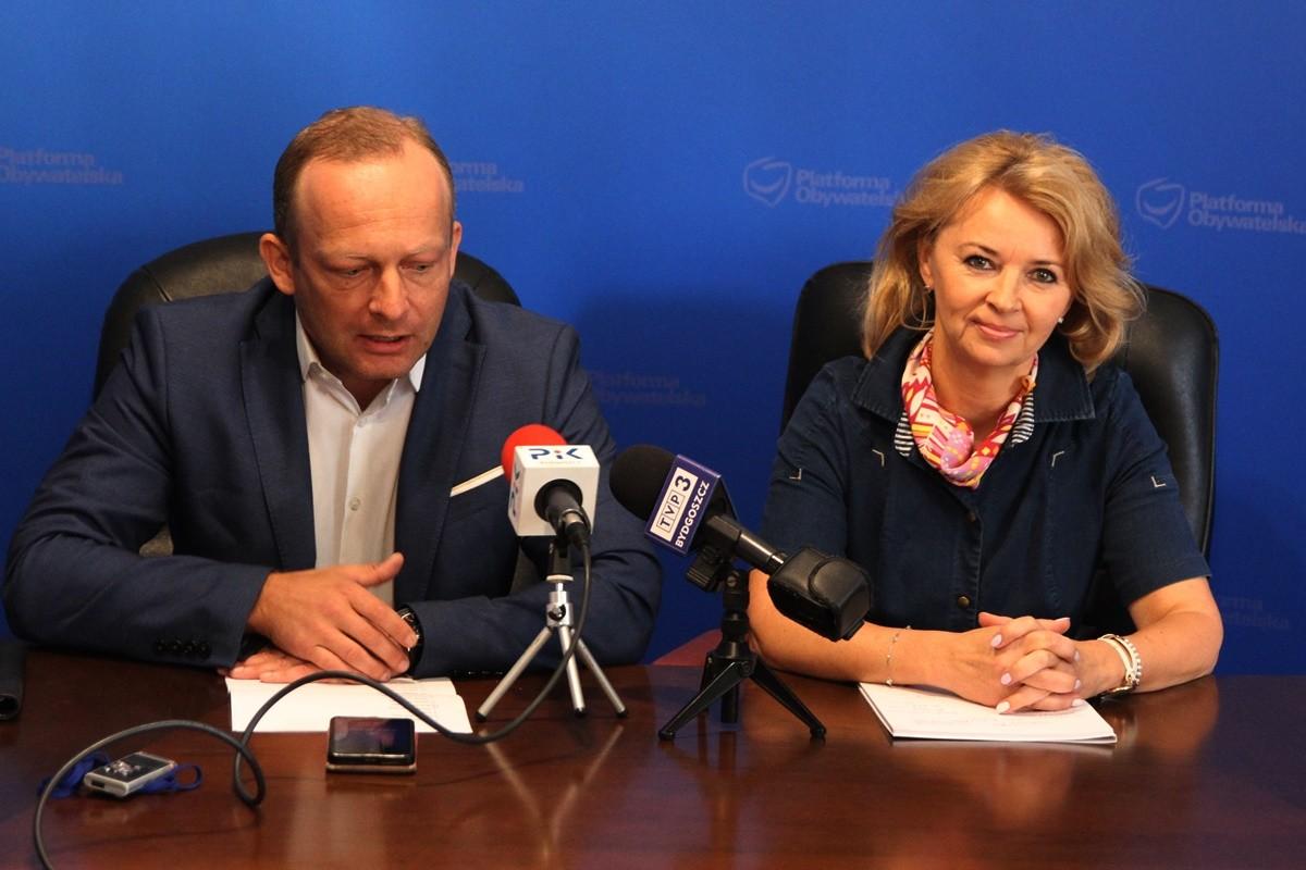 Paweł Olszewski, Iwona Kozłowska - Platforma Obywatelska - SF