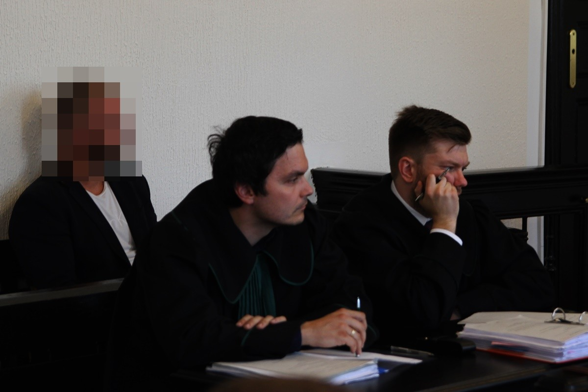 Rafał P., adw. Dawid Antonik, Krzysztof Wysocki - SF