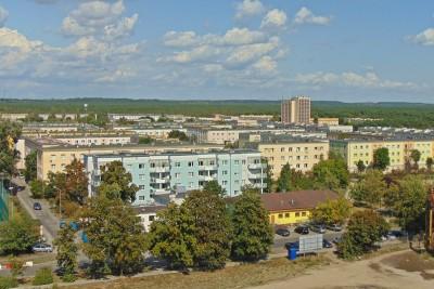 osiedle leśne panorama widok BB