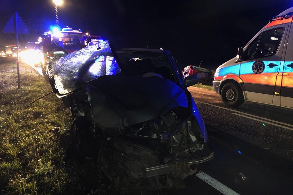 wypadek - DK25 Zamarte - fot. nadesłane (2)