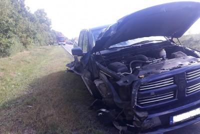 wypadek, stary dwór - pomoc drogowa koronowo