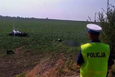 1-09-2019_ wypadek Brzeźno - powiat świecki - KPP Świecie (1)