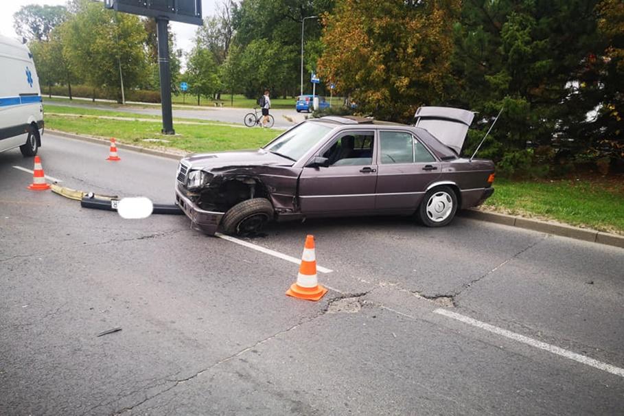 13-09-2019_ wypadek - rondo Maczka, nad Torem Bydgoszcz - Krystian Andruszczenko-1