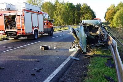 14-09-2019_ wypadek DK5 Wąsosz  - MR-10