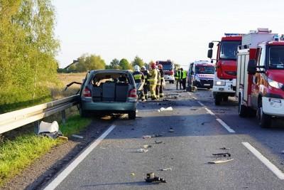 14-09-2019_ wypadek DK5 Wąsosz  - MR-3
