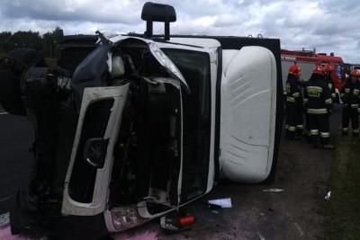 17-09-2019_ wypadek - autostrada A1 Warlubie - KPP Świecie (2)