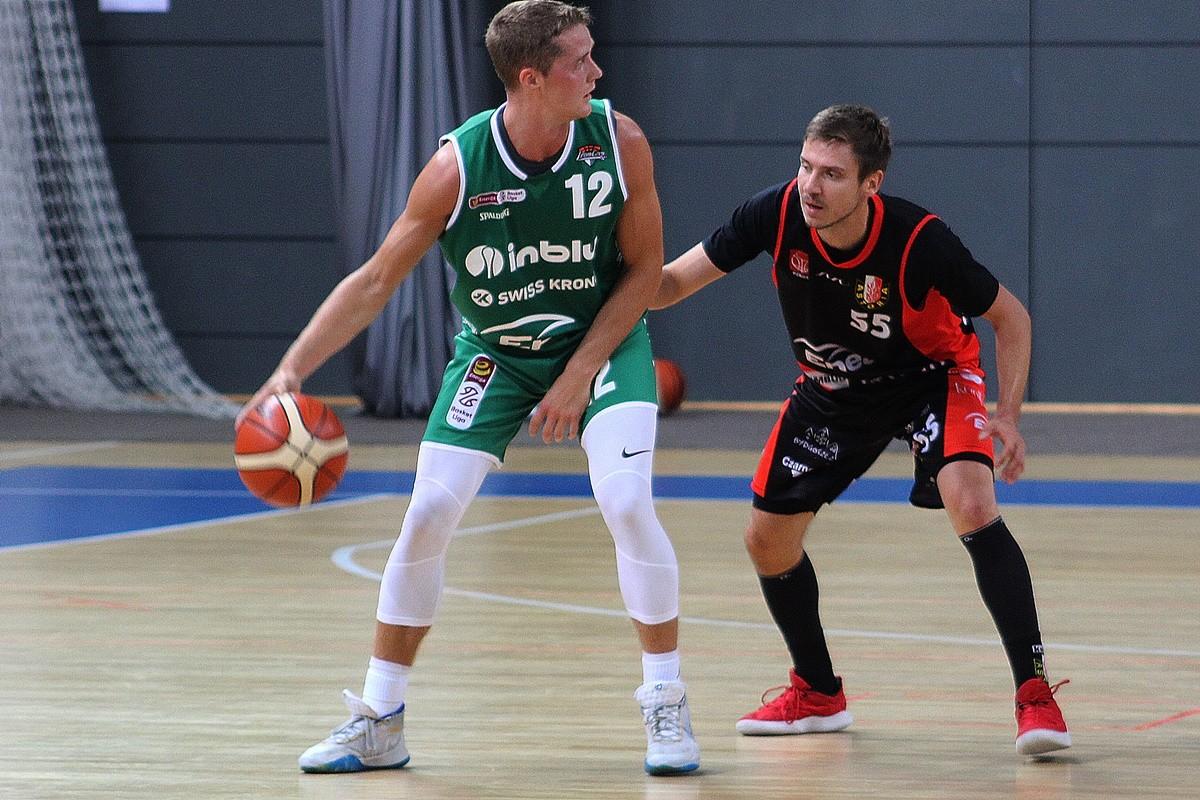 18-09-2019_ sparing Enea Astoria Bydgoszcz - Stelmet Enea BC Zielona Góra_ Marcin Nowakowski - Ludde Hakanson - JS