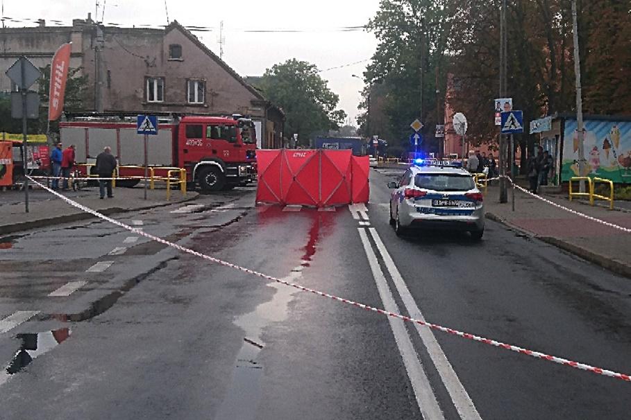 25-09-2019_ wypadek DK25_ Michelsona Strzelno - KPP Inowrocław