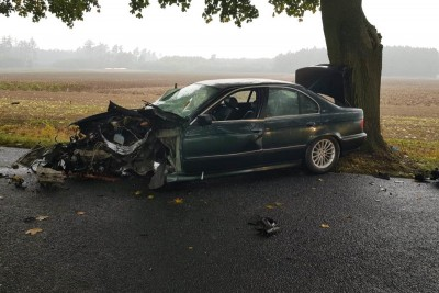 26-09-2019_ wypadek Ostrowo - KPP Mogilno-1