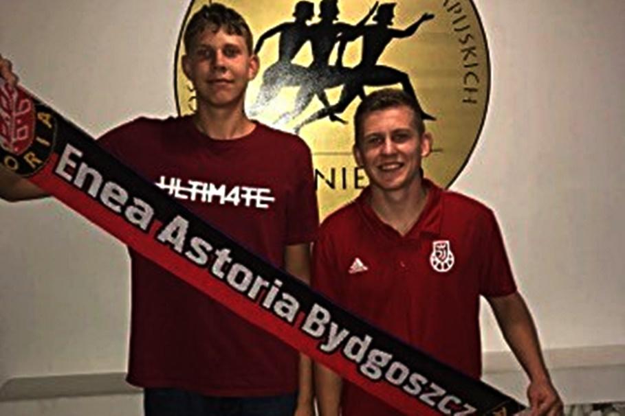 Adrian Sobkowiak, Piotr Wińkowski - Enea Astoria Bydgoszcz