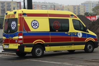Ambulans - na sygnale - SF