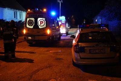 Ambulans, policja, straż pożarna - na sygnale - MR