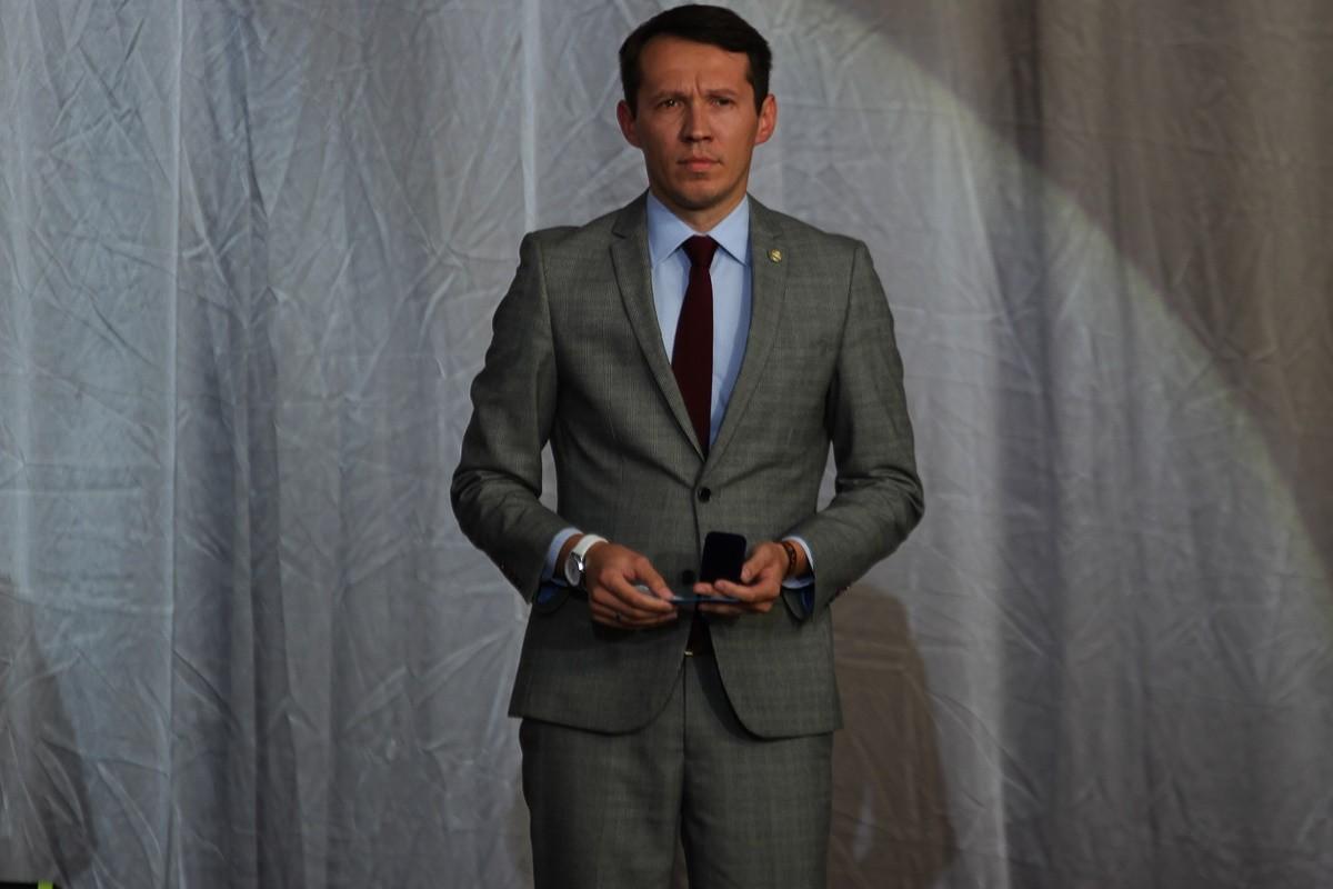 Przemysław Lipka - prezes Kujawsko-Pomorskiego Związku Koszykówki - SF