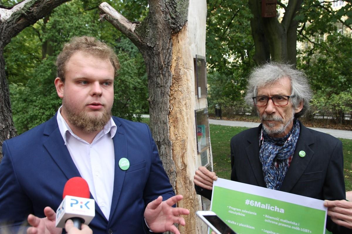Zieloni_ Piotr Malich, Marek Kossakowski - SF