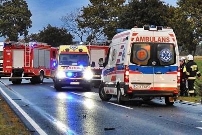 ambulans, straż pożarna - na sygnale - ZK-1